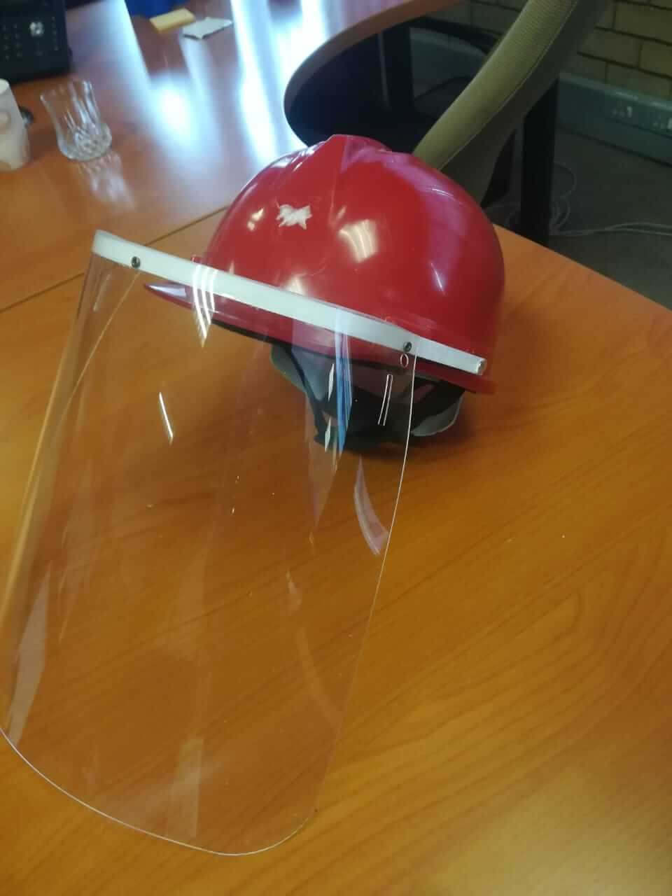 Face Shields Hard Hat for sale