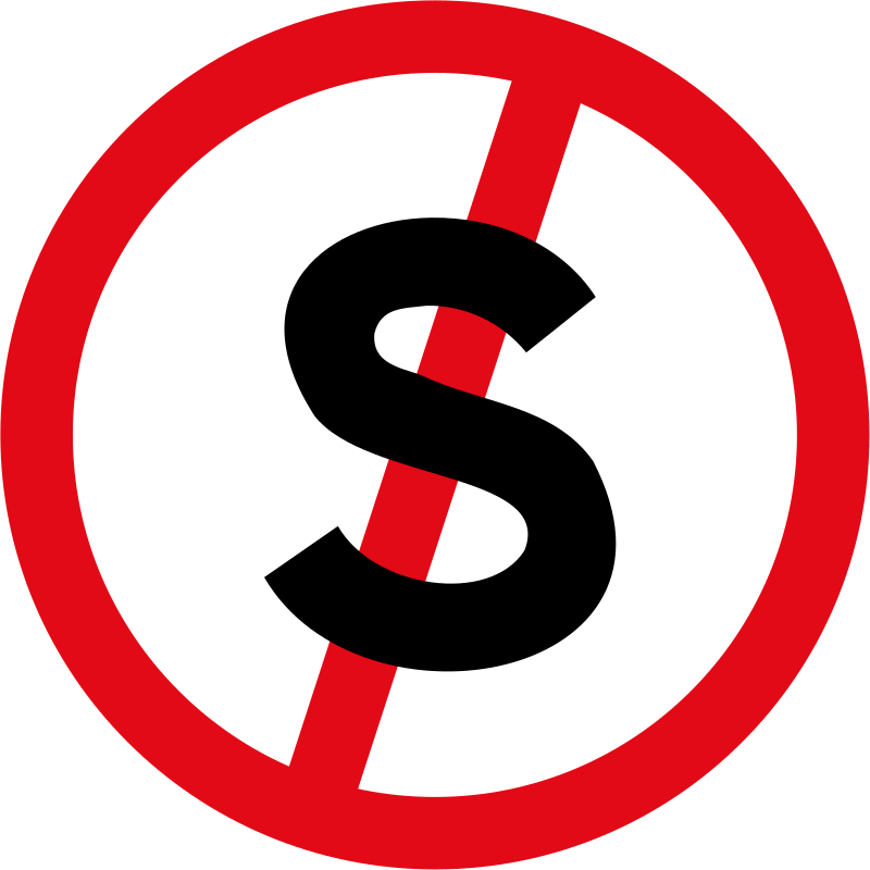 Stopping prohibited